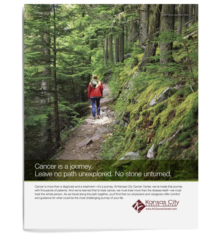 Kansas City Cancer Center Journey Ad Campaign 3