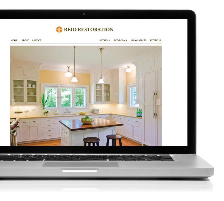 Reid Restoration Website Design