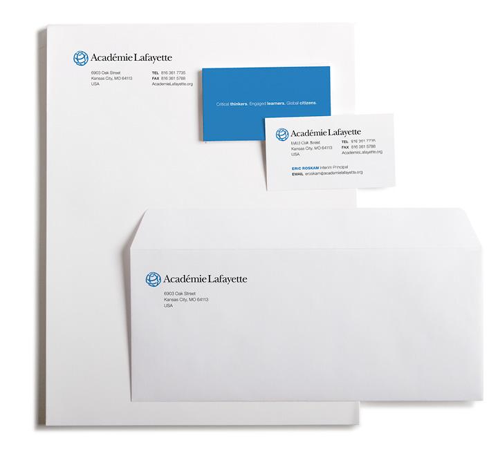 Académie Lafayette Paper System Design