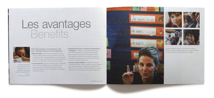 Academie Lafayette brand personality brochure