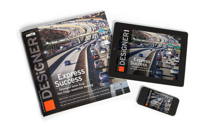 HNTB Designer 98 Digital Publishing for iPad and iPhone
