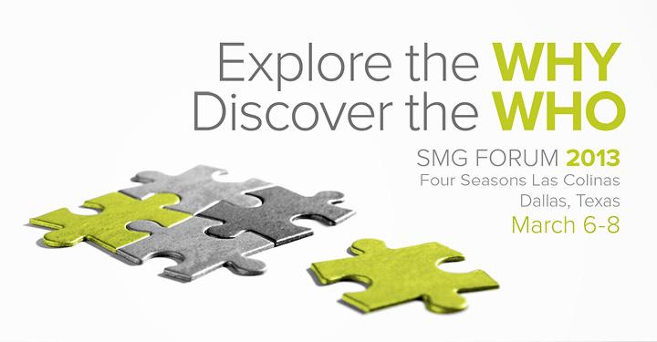 SMG Forum 2013 Event Branding