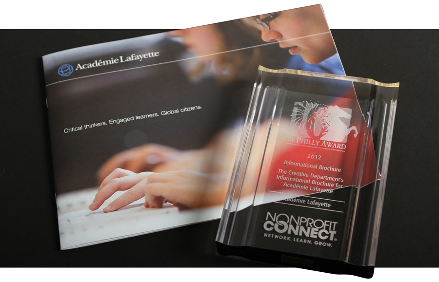 Academie Lafayette Information Brochure Philly Award