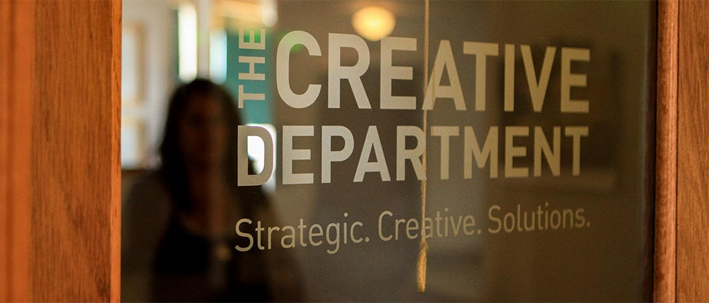 The Creative Department front door