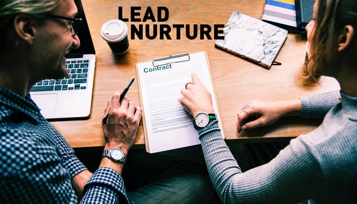 lead nurture to contract deal credit rawpixel