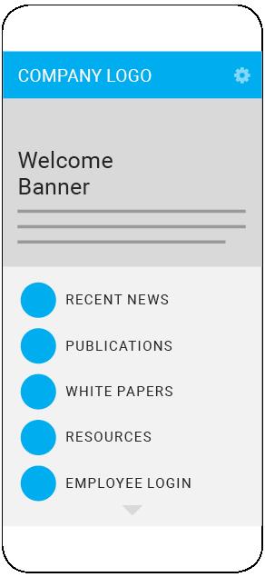 Corporate App sample