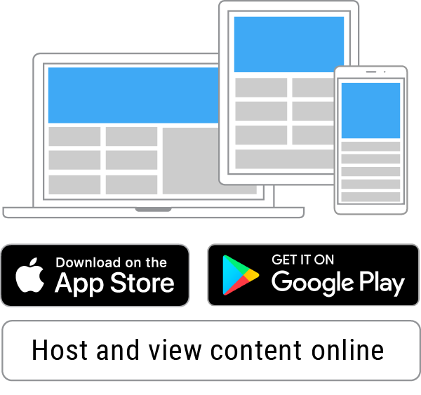 Publish content to app stores and online